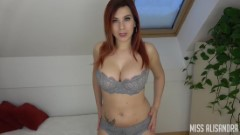 Miss Alisandra – Think Of Me When You Fuck Her